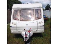 Abbey adventura 2 berth caravan 513. 2003