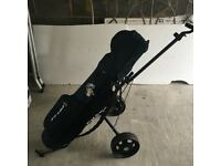 Hybrid golf clubs set with accessories