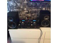 TIBO AUDIO DJ PRO 1000 TWIN CD and USB MIXER