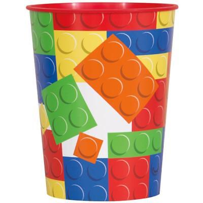 Block Party Lego 16 oz Keepsake Stadium Cup Birthday Party Supplies