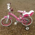 "Hello Kitty  14"" bike"