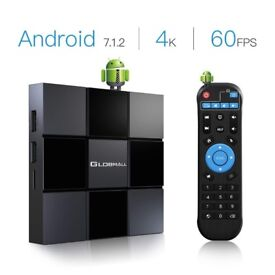 Android TV Box 7.1 X 3 2018 Smart TV Box 2G RAM Supporting HD 4K