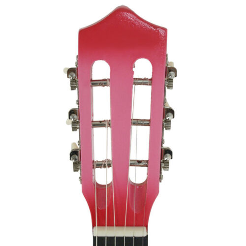 38 Inches Dreadnought Acoustic Guitar Pink Beginner Starter Student Guitar Acoustic Guitars