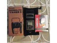 Yongnuo Speedlite YN468-ii flash gun
