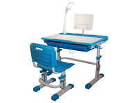Height Adjustable Ergonomic Kids Desk and Chair