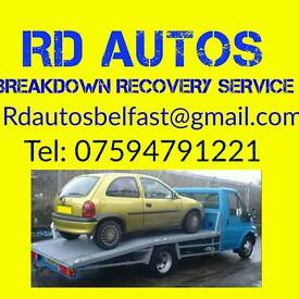 Reliable Recovery Service.