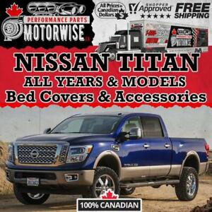 Nissan Titan Bed Covers - Accessories - Performance Parts  | FINANCING Available | Shop & Order Today at Motorwise.ca