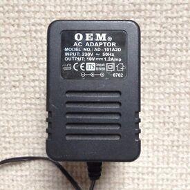 OEM AC Adaptor AD-101A2D Plug