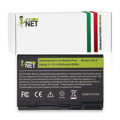 Batteria per ACER ASPIRE 5630-BL50, 5634WLMi da 10.8V/11.1V 5200mAh 0114