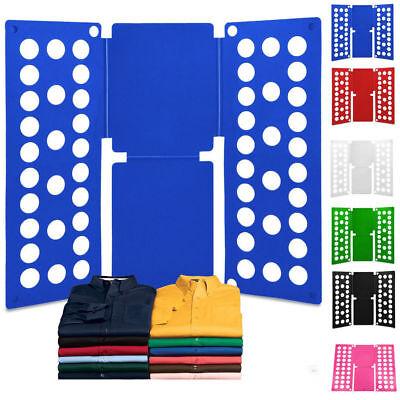 USA Clothes Folder Folding Board Laundry Organizer Adult T Shirt Fast Fold Flip