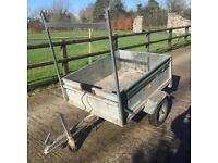 4ftx3ft galvanised car trailer for sale