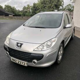 2006 Peugeot 307 S HDI *MOT'd to July 2019, 1.6L Diesel, 5 Door Hatchback, Fully Serviced, Silver*