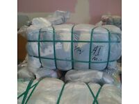 Used Second Hand Clothing Bales Bundles Grade A Cream Quality
