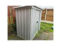 Almost new garden shed