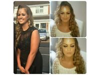 Prom Make up and hair