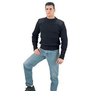 New COMMANDO SWEATERS -- WARM, FLEXIBLE AND RUGGED -- IDEAL FOR ACTIVE OUTDOOR PEOPLE !!