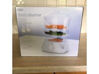 ELECTRIC STEAMER 3 TIER FROM MARKS AND SPENCER - NEW, SEALED, BOXED