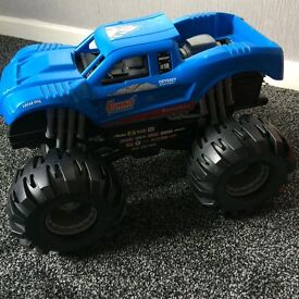 Monster truck toy car