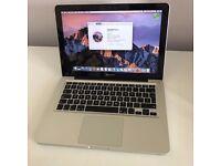 Mid 2012 13 Apple Macbook Pro Core i5 2.5Ghz 4GB, 500GB HDD, Intel GPU