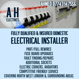 Qualified Electrician - Covering Harrow, Brent, Slough, Kingston, Herts