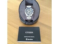 Brand new Mens citizen eco drive watch