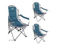 Royal president adjustable chairs Blue Silver max weight 120 kg