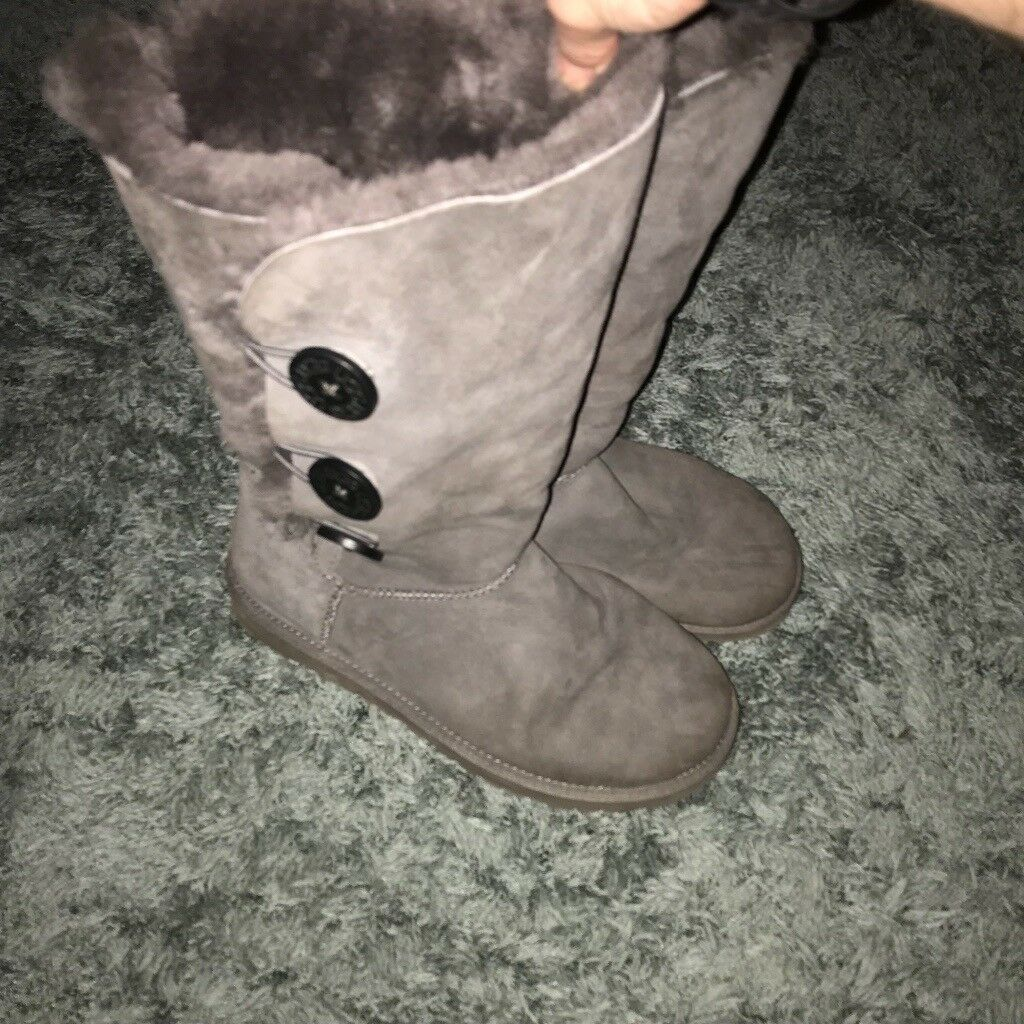 e3357e63401 Tall grey bailey button ugg boots | in East Kilbride, Glasgow | Gumtree