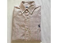 Polo Ralph Lauren gridcheck buttomdown shirt