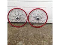 BMX wheels 406x23