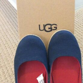Brand new, still in box ugg girls size 3 pumps