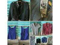 Bundle of woman clothes