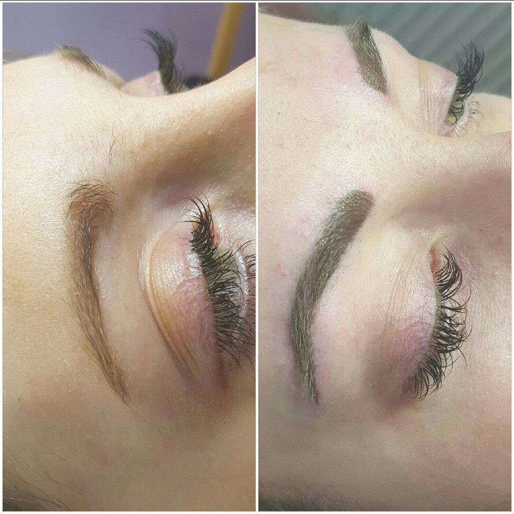 Semi Permanent Makeupcosmetic Tattooing For Eyebrows Eyeliner