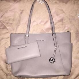 Michael Kors tote bag and purse