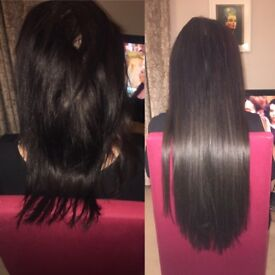 Micro Ring, nano ring and tiny tip hair extensions