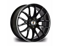 "*Load Rated* x4 20"" Stuttgart St3 Alloy Wheels 8.5J Vw T5 T6 T6.1 Amarok"