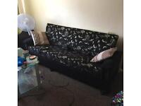3 AND 2 SEATER FABRIC SOFA FOR SALE. FREE LOCAL DELIVERY.
