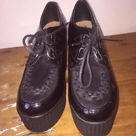 Heeled Creeper Boots