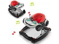 Racing car baby walker/rocker