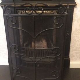 Cast iron fire place , excellently condition
