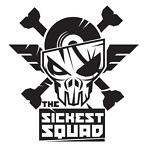 The Sickest Squad sticker small