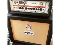 NEW Orange Amps guitar amp – Crush Pro 120 head & cab setup for sale. £720 ONO!! No trades
