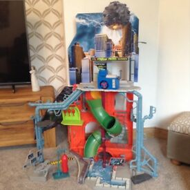 Teenage mutant mutant turtles sewer tower