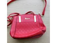 Ladies stylish red handbag