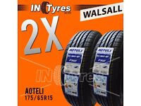 2x 175/65R15 BUDGET Tyres Fitting is Available