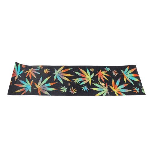 33 x 9 inch Skateboard Deck Grip Tape Waterproof Sandpaper A