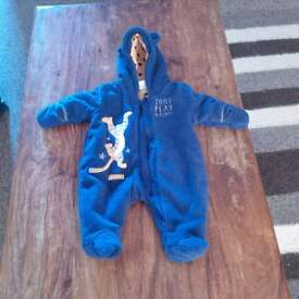 Disney Tigger Newborn Snowsuit. Excellent Condition