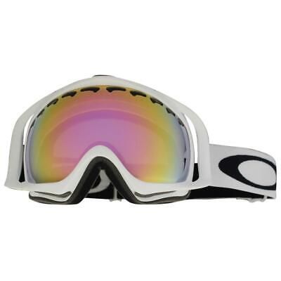 Oakley 57-259 Crowbar Matte White Frame w/ VR50 Pink Iridium Snow Ski Goggles for sale  Shipping to Canada