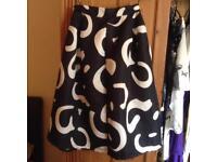 Vintage high waisted skirt size 10