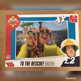 Fireman Sam jigsaw