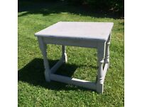 Vintage Distressed Shabby Chic Table